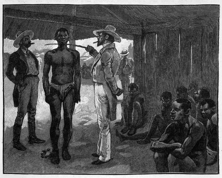 Black People Were Enslaved Specifically for Their Superior Strength