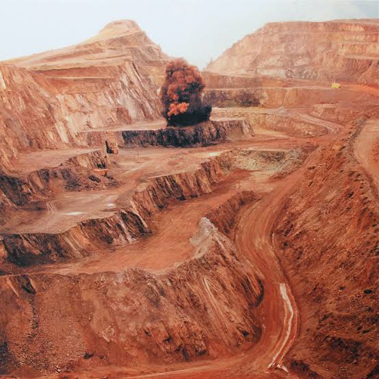 Aerial View Of The Mines In Swaziland