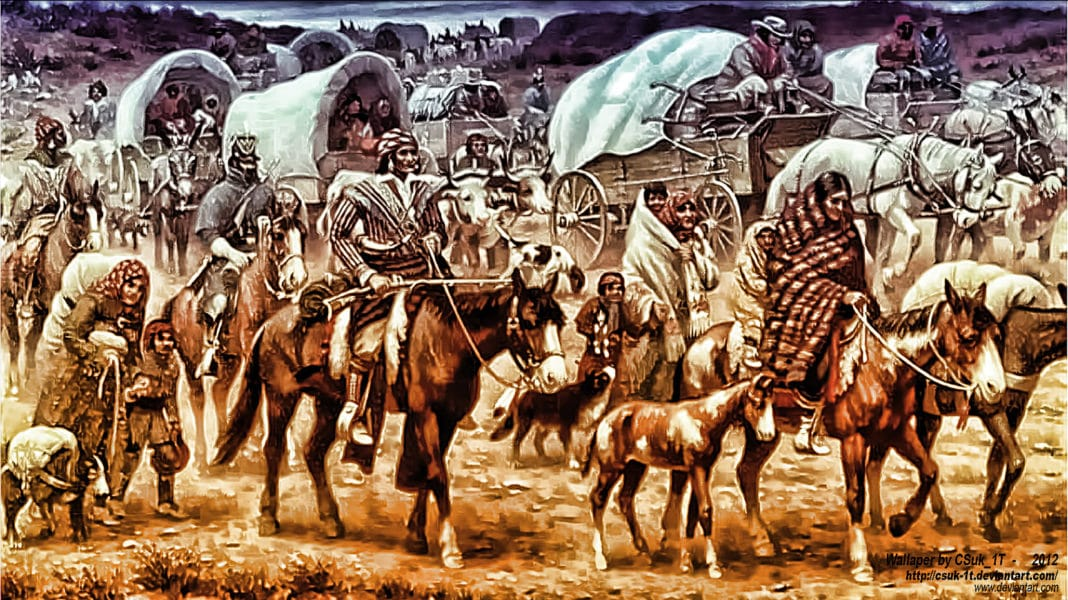 Enslaved Black People- The Part of the Trail of Tears Narrative No One Told You About