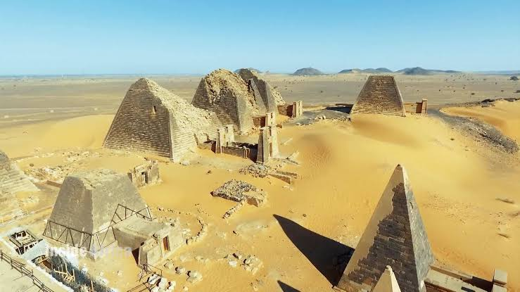 Remnants Of The Sudan Pyramids