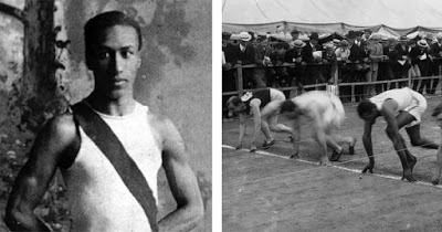 First African-American Athlete to Win a Medal in the Olympic Games