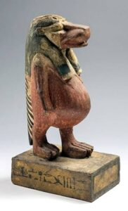 Taweret; the Egyptian goddess of fertility.