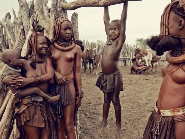 Brief History Of The Himba People - The Tribe Famous With Their Red Ochre And Smoke Bathing