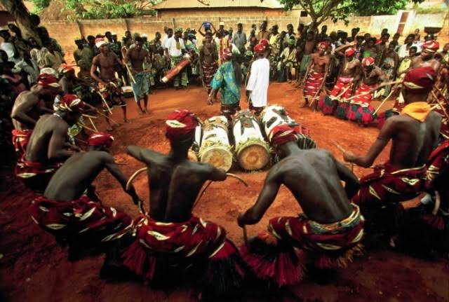 African traditional beliefs.