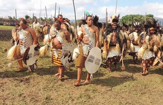 The incwala dance of Swaziland