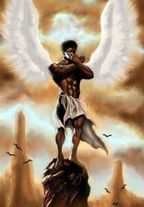 African hierarchy of spirit beings.