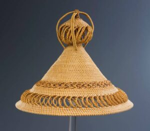 The Lesotho hat.