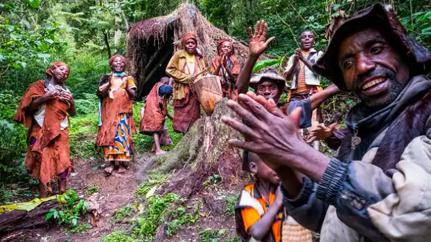 History Of The Lost Pygmy People - The Batwa Tribe (The Forest Keepers)
