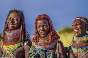 The Mwila tribe, Angola