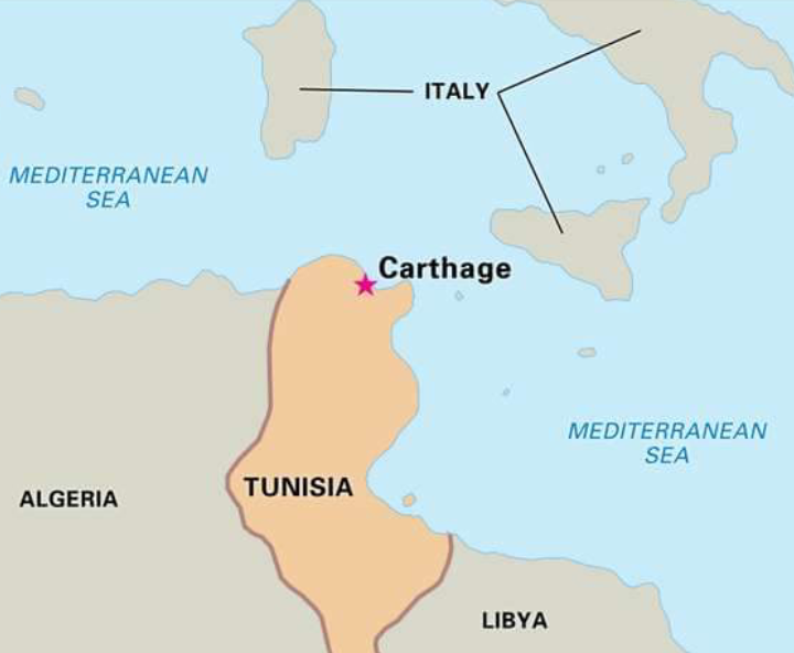 History Of The Ruined Ancient City Of Carthage