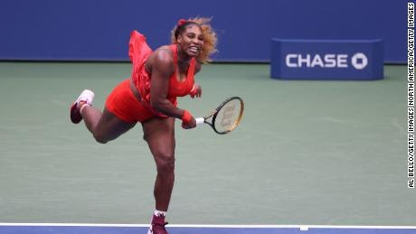 Serena Williams sets a new record at the US Open