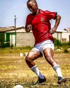 Qaphela, the south African rugby black player that was set ablaze.