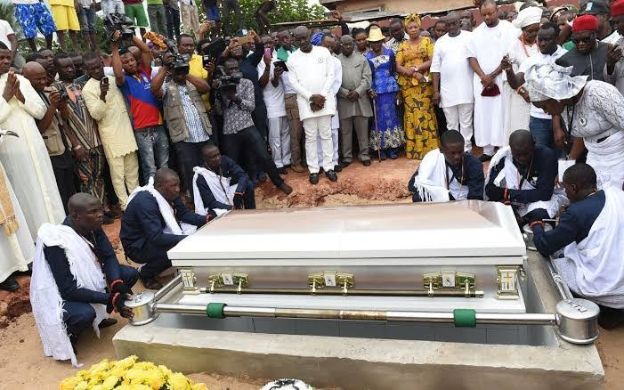 Burial in west Africa