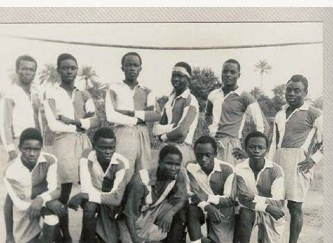 The first Nigerian team (photo credit: pinterest)