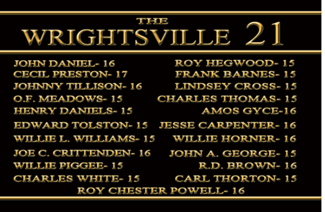 1959 Holocaust On 21 African-American At Wrightsville Juvenile Correctional Facility