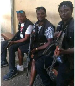 This is what the Nigerian SARS team looks like