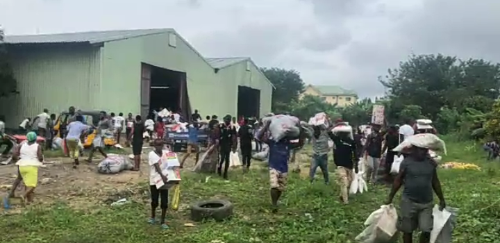 Warehouses For Covid-19 Palliatives Discovered In Calabar (Videos)
