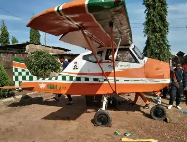 Four Secondary School Leavers From Kwara Narrates How They Sold Their Belongings To Raise 3.5 Million Naira To Build An Aircraft